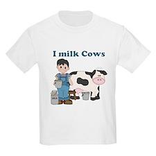 I Milk Cows T-Shirt
