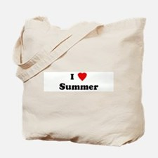 I Love Summer Tote Bag
