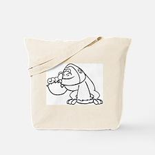 Gorilla Boogers Tote Bag