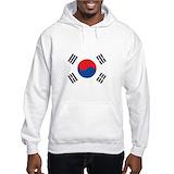 Korean flag Light Hoodies
