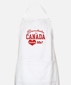 Somebody in Canada Loves Me BBQ Apron