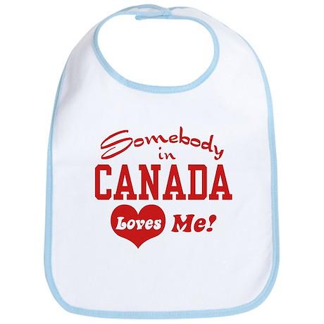 Somebody in Canada Loves Me Bib