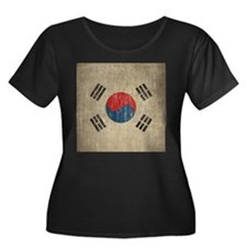Vintage South Korea Flag T