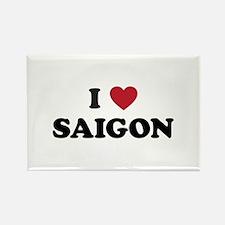 I Love Saigon Rectangle Magnet