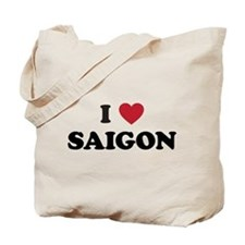 I Love Saigon Tote Bag