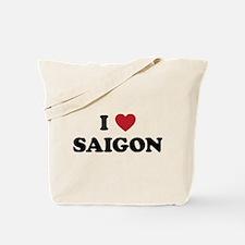 I Love Saigon Tote Bag