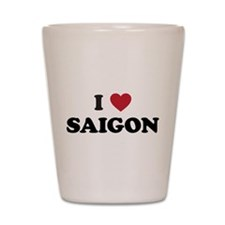 I Love Saigon Shot Glass