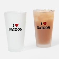 I Love Saigon Drinking Glass