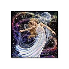"Celestial Fairy Square Sticker 3"" x 3"""