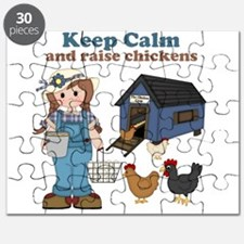 Keep Calm and Raise Chickens Puzzle