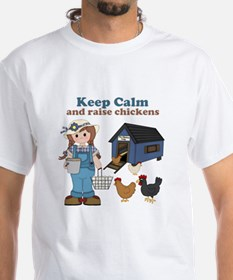 Keep Calm and Raise Chickens Shirt