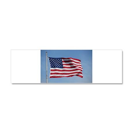 usa american flag Car Magnet 10 x 3