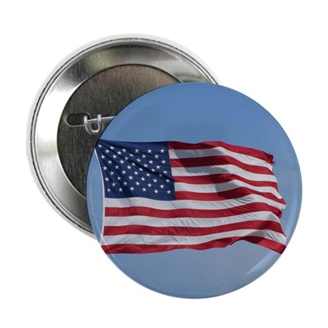 """usa american flag 2.25"""" Button (100 pack)"""