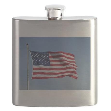 usa american flag Flask