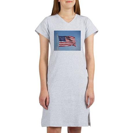 usa american flag Women's Nightshirt