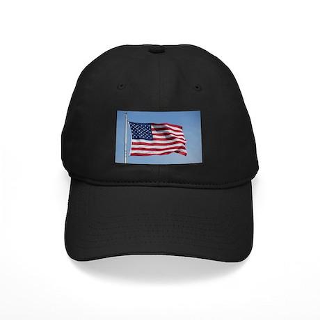 usa american flag Black Cap