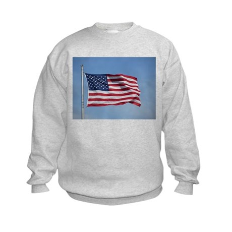usa american flag Kids Sweatshirt