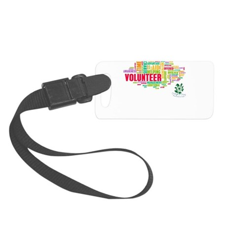 Volunteer Small Luggage Tag