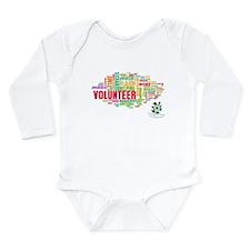 Volunteer Long Sleeve Infant Bodysuit