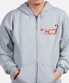 Lover and fighter Zip Hoodie