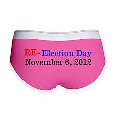 Re-election Day 11-6-12 Women's Boy Brief