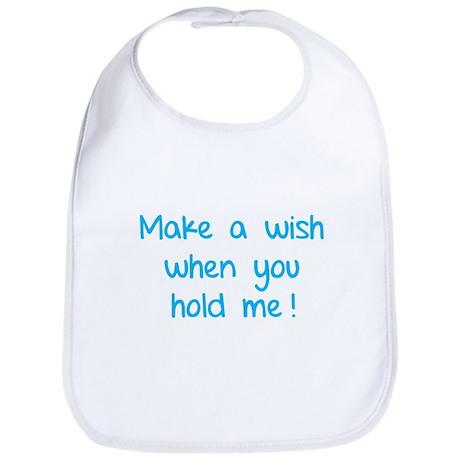Make a wish when you hold me! Bib