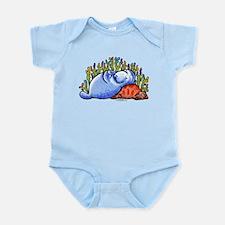 Sea Turtle n Manatee Infant Bodysuit