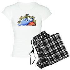 Sea Turtle n Manatee Pajamas