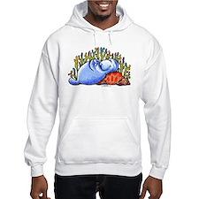 Sea Turtle n Manatee Hoodie