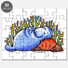 Sea Turtle n Manatee Puzzle
