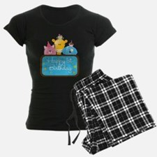 Happy 1st Birthday Pajamas