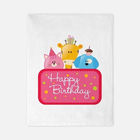 Happy Birthday Twin Duvet