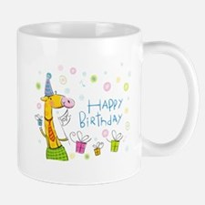 Happy Birthday Giraffe Mug