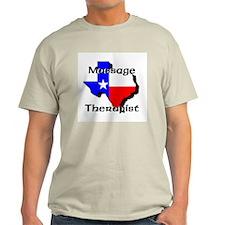 Texas Massage Ash Grey T-Shirt