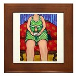 MeeMaw & Teeny ~ Teacup Chihuahua Framed Tile