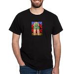 MeeMaw & Teeny ~ Teacup Chihuahua Black T-Shirt