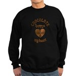 Chocolate Heart Sweatshirt (dark)