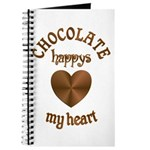 Chocolate Heart Journal