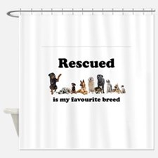 Favourite Breed Shower Curtain