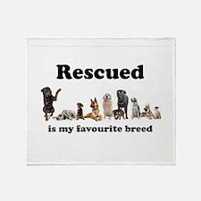 Favourite Breed Throw Blanket