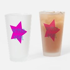 Super Star Drinking Glass
