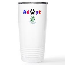 Adopt Stainless Steel Travel Mug
