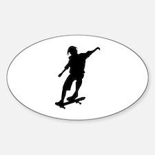 Skateboarding Decal