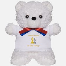 Personlized King Shirt Teddy Bear