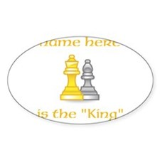 Personlized King Shirt Decal