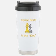 Personlized King Shirt Travel Mug