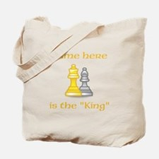 Personlized King Shirt Tote Bag