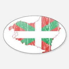 Basque Flag And Map Decal