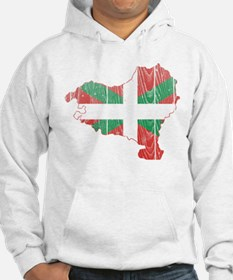 Basque Flag And Map Hoodie