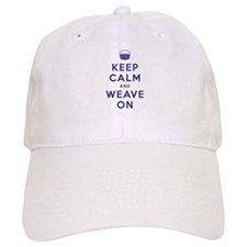 Keep Calm and Weave On Baseball Cap